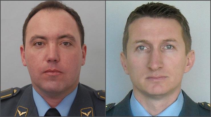 MO: Poginuli piloti, major Dejan Krsnik i kapetan prve klase Zvonko Vasiljević