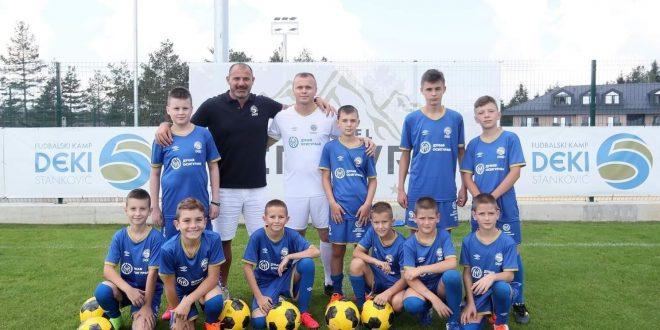 """Škola fudbala """"28 jun"""" po treći put na kampu Dejana Stankovića"""