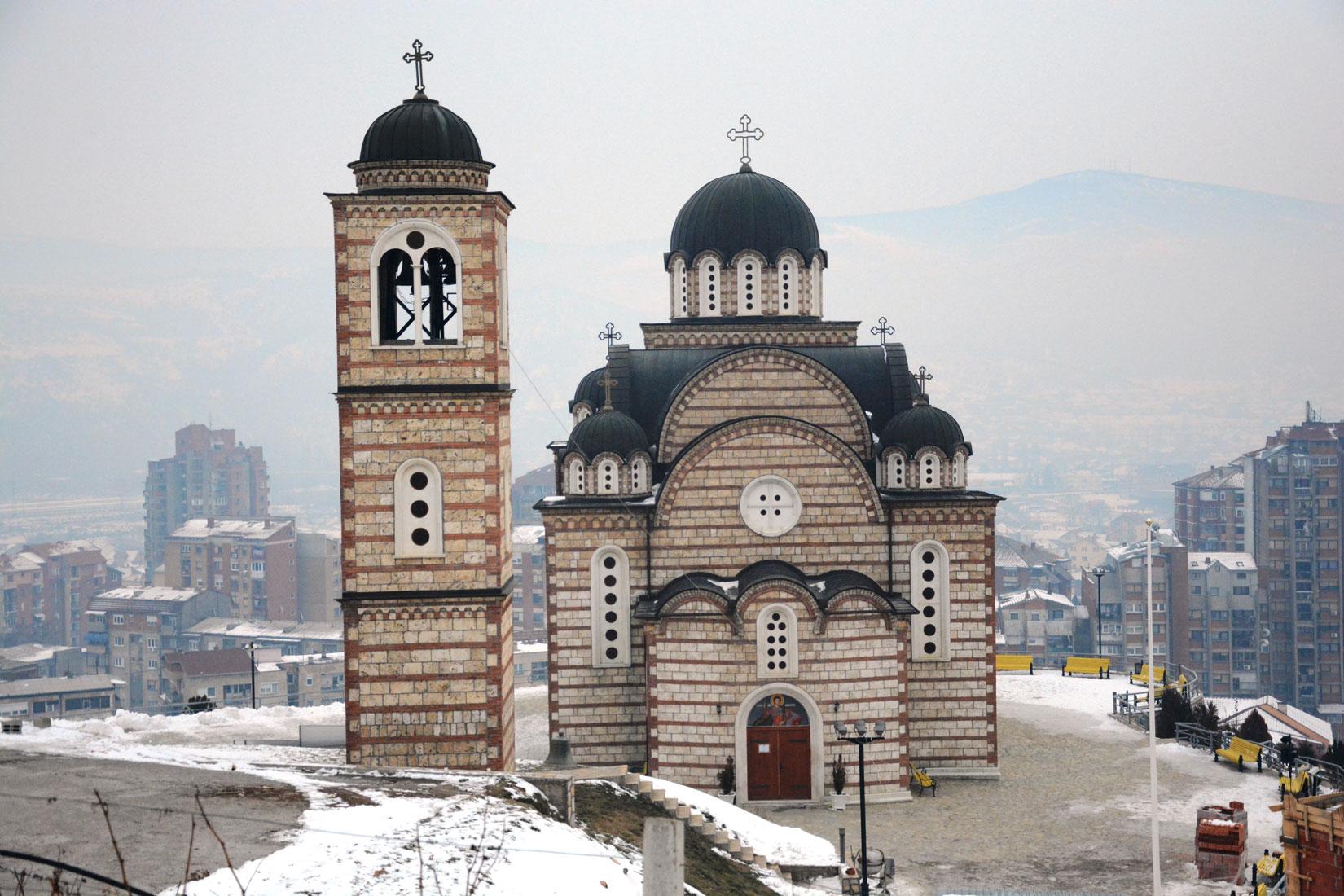 Televiziji Most zabranjen ulazak u crkvu Svetog Dimitrija u Kosovskoj Mitrovici!