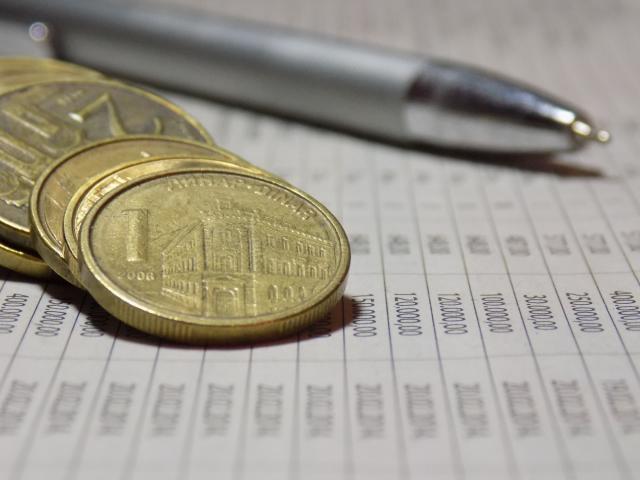 Dinar nastavlja mirovanje, kurs sutra 117,83