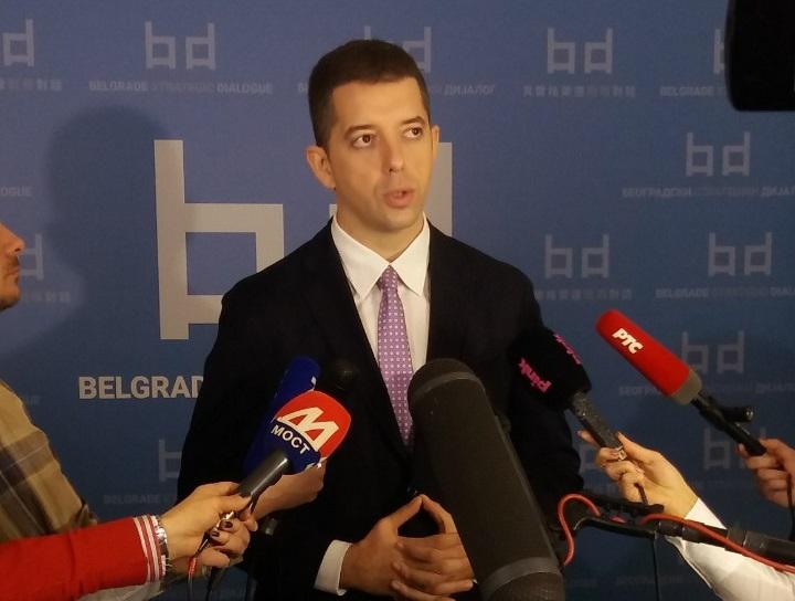 Đurić: Stejt department izjednačava Beograd i Prištinu