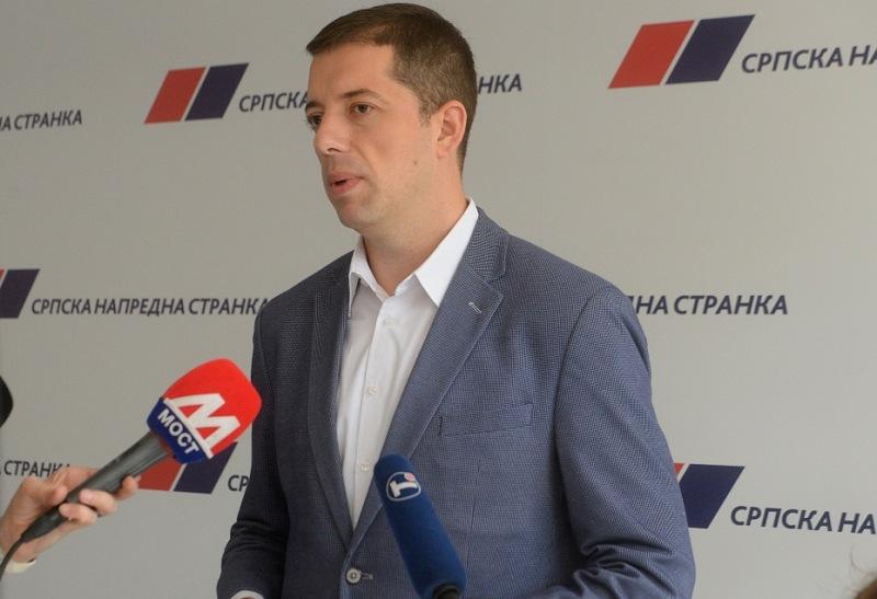 Đurić: Vučić ima podršku svakog člana SNS-a