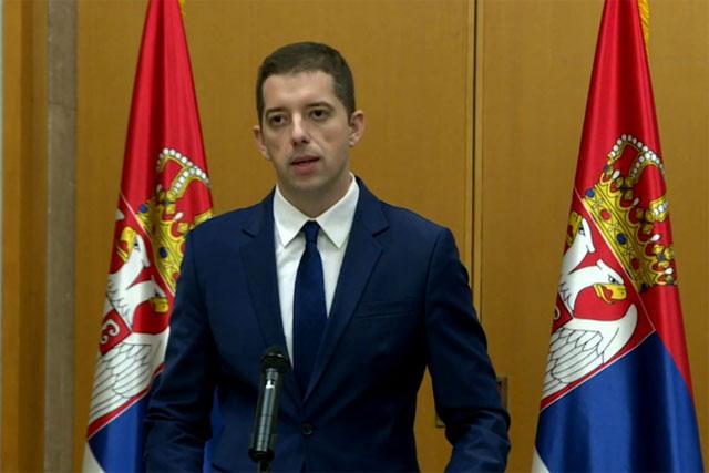 Đurić: Raspisivanje poternice za Radoičićem poslednji u nizu serije pritisaka na Srbe na KiM