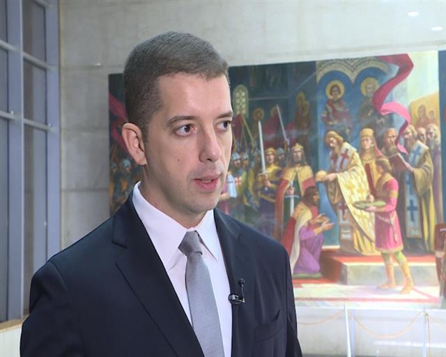 Stigao izveštaj o Kosovu, Đurić: Srpski parlament najbolje mesto za razgovore o KiM