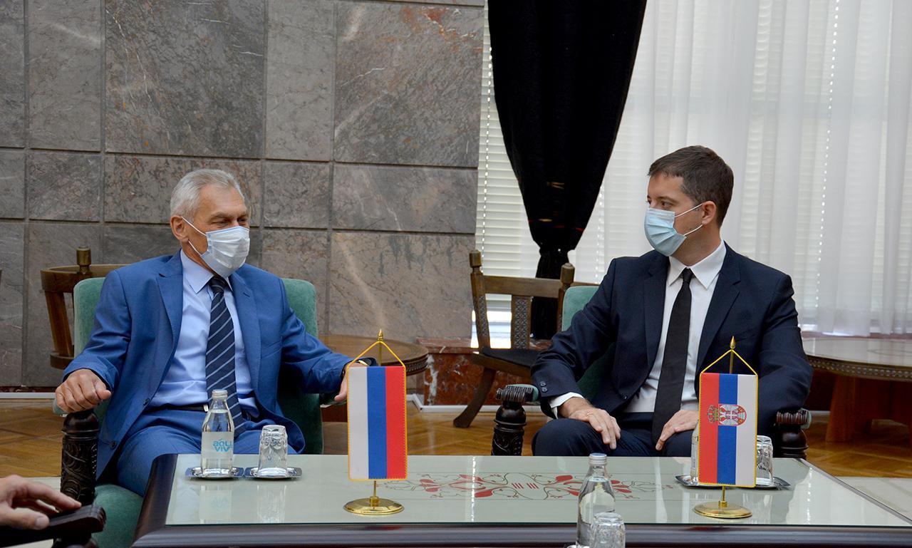 Đurić sa Bocan Harčenkom o političko-bezbednosnoj situaciji i problemima Srba u južnoj srpskoj pokrajini