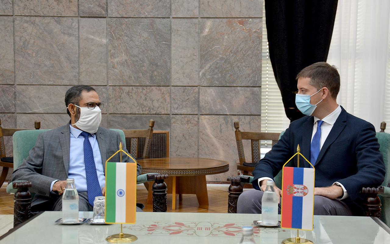 Đurić sa ambasadorom Indije o dijalogu Beograda i Prištine