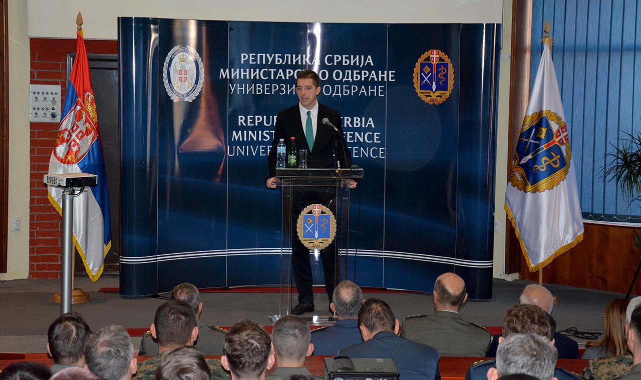 Đurić održao predavanje na temu