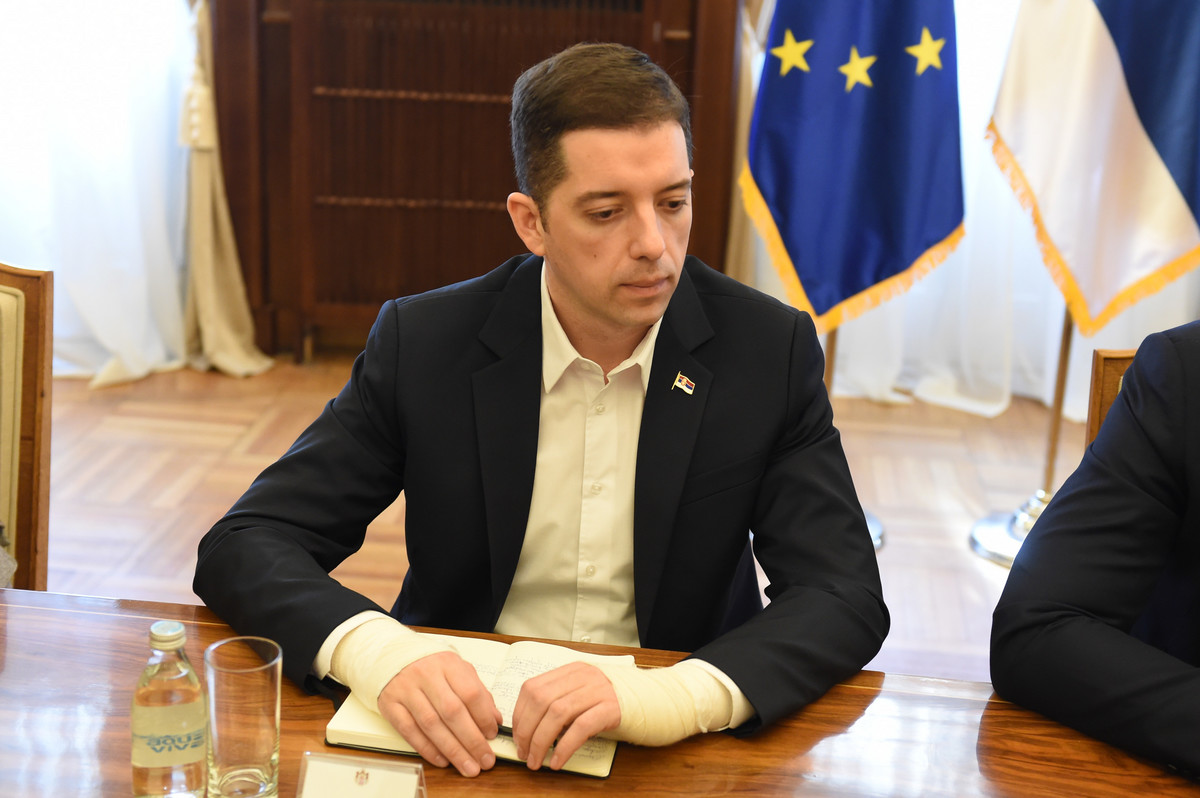 Đurić sa Amandom Slout o bilaterali i dijalogu Beograda i Prištine