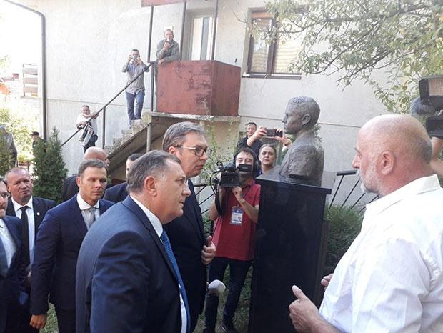 Dodik: Važno nam je da je Srbija ovde sa nama