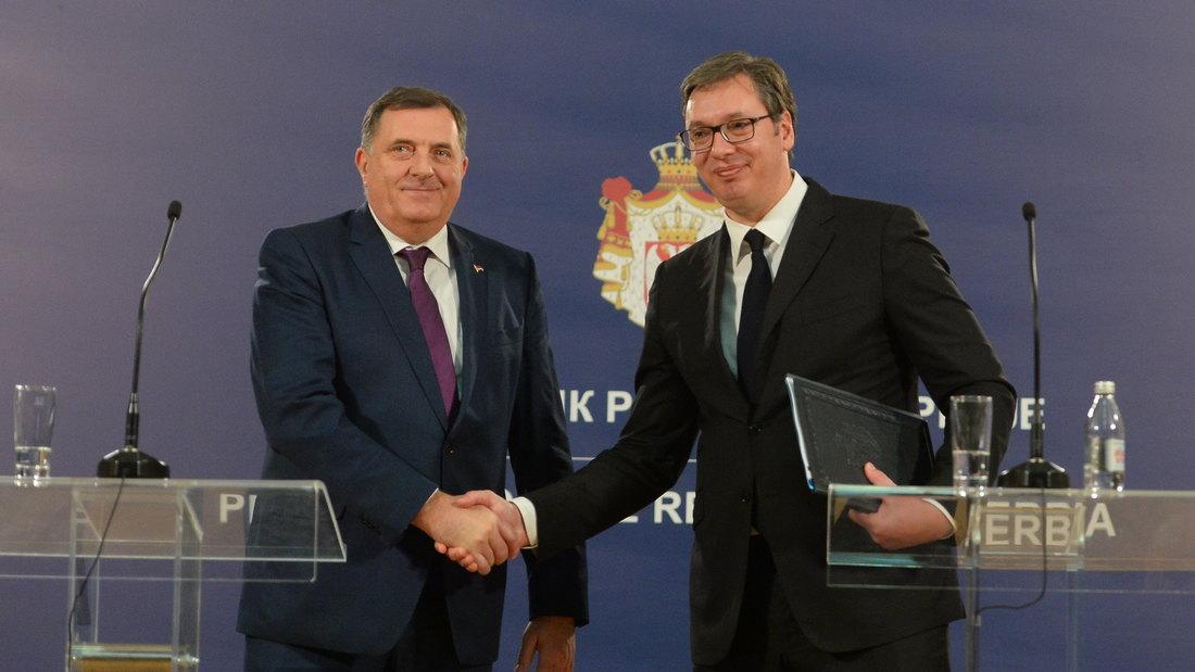 Vučić i Dodik zajedno će posetiti Drvar