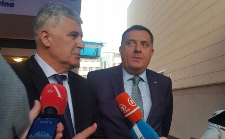 Dodik i Čović: Hitno formirati vlast na nivou BiH