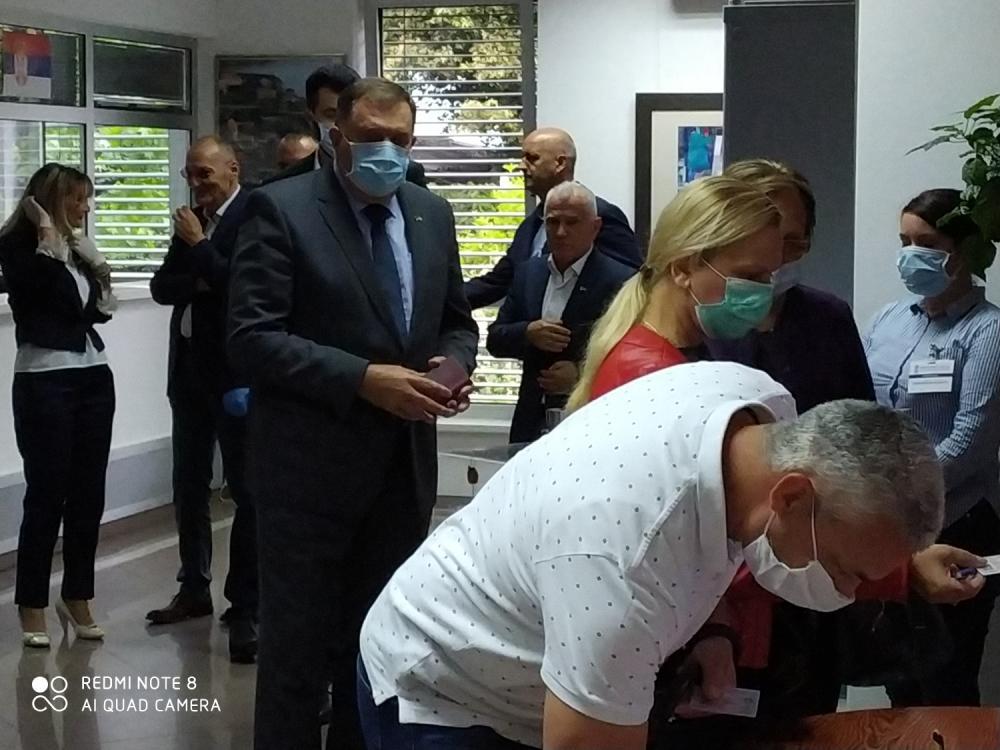 Dodik i Arlov glasali u Banjaluci
