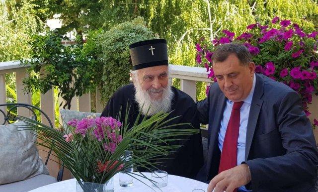 Uoči posete Vatikanu i papi: Dodik sutra sa patrijarhom Irinejom
