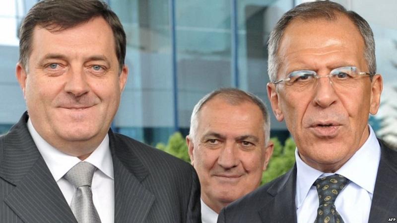 Sastanak Dodika i Lavrova u Sankt Peterburgu