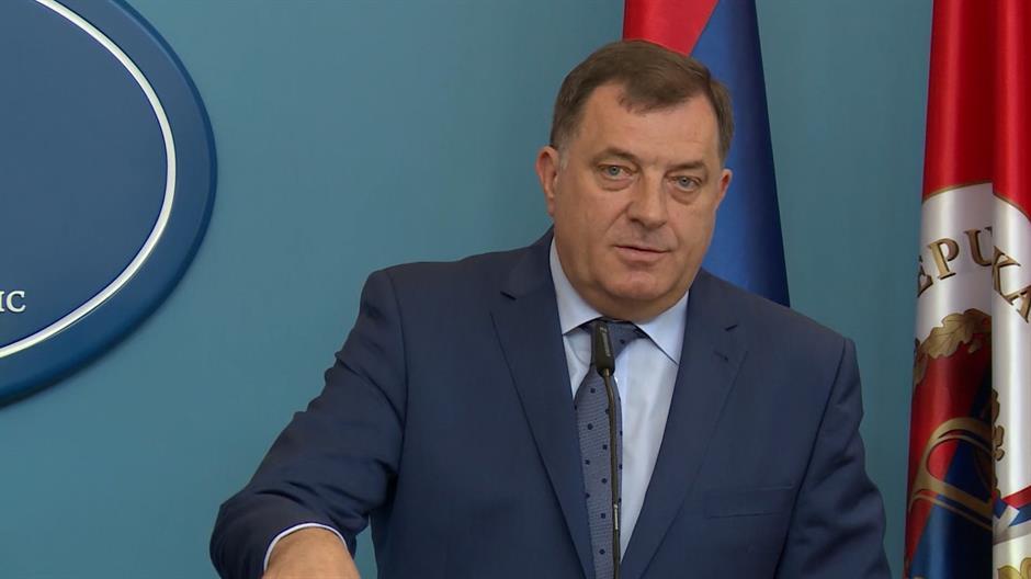 Dodik: Nema puta u NATO dok se stav Srpske ne promeni