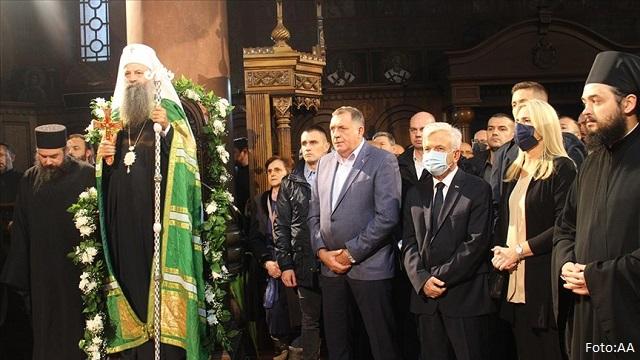 Dodik: Prva liturgija u manastiru Miloševac važan događaj