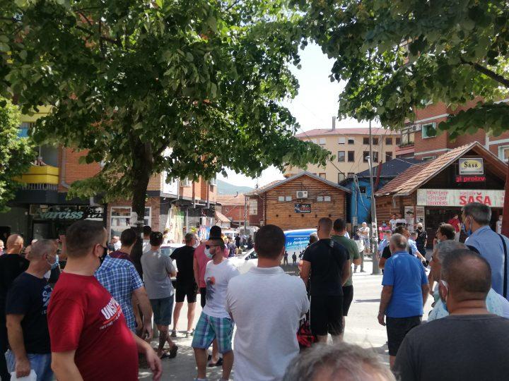 Pucnjava u centru K.Mitrovice, jedno lice privedeno