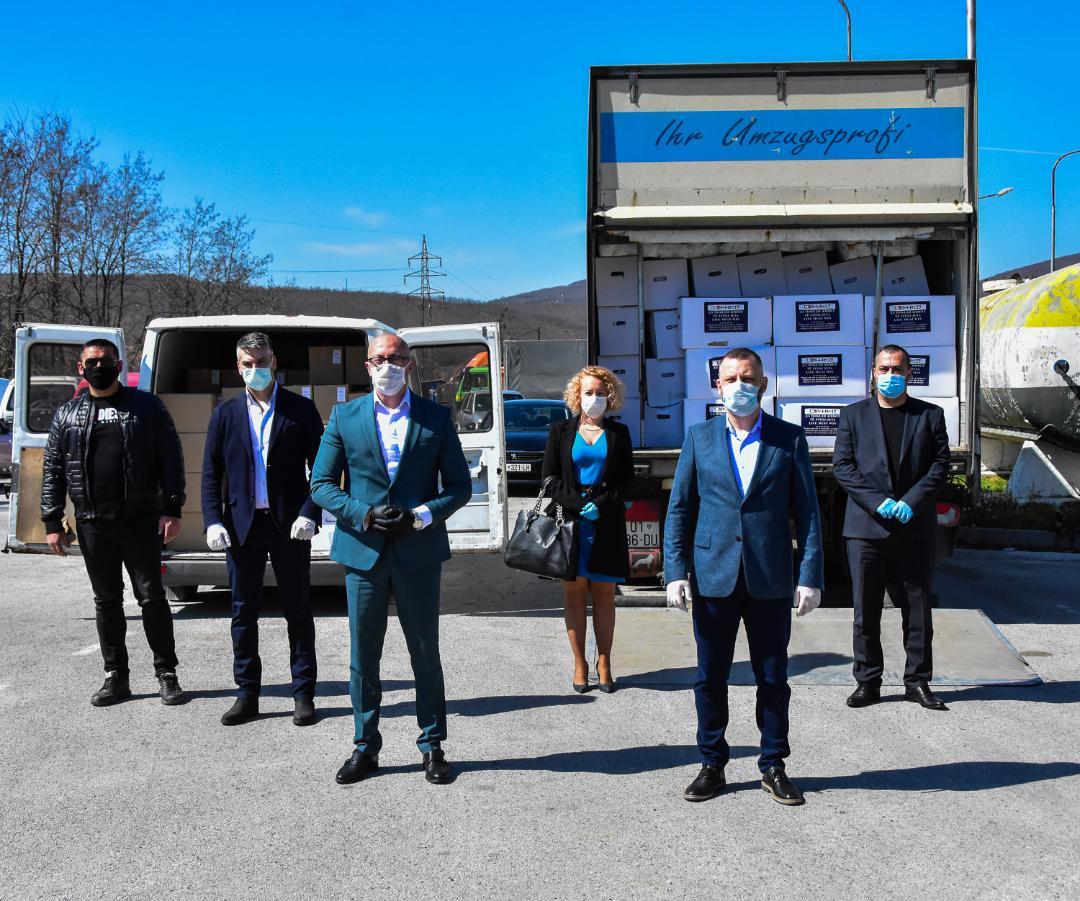 "Akcijom ""Da pobedi život"" do ugorženih na severu Kosova i Metohije"