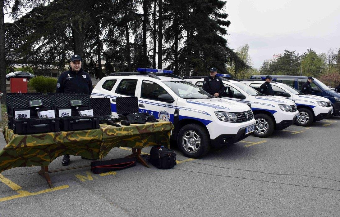 Nemačka donirala 29 vozila srpskoj policiji