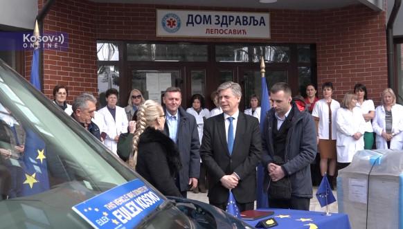 Euleks donirao vrednu pomoć za Dom zdravlja u Leposaviću