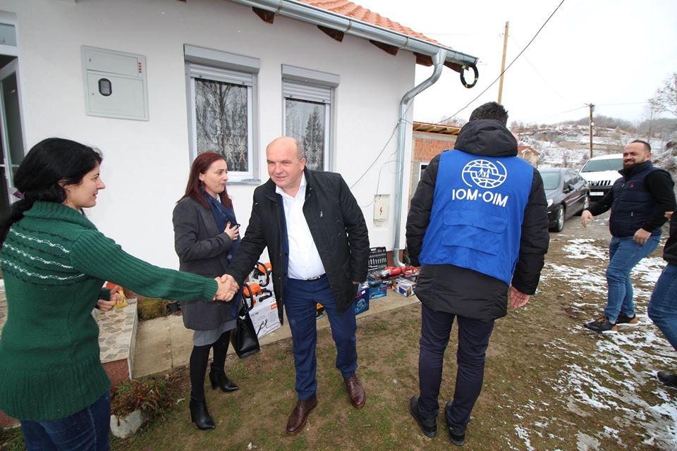 Evropska unija donira i stimuliše povratnike u opštini Novo Brdo