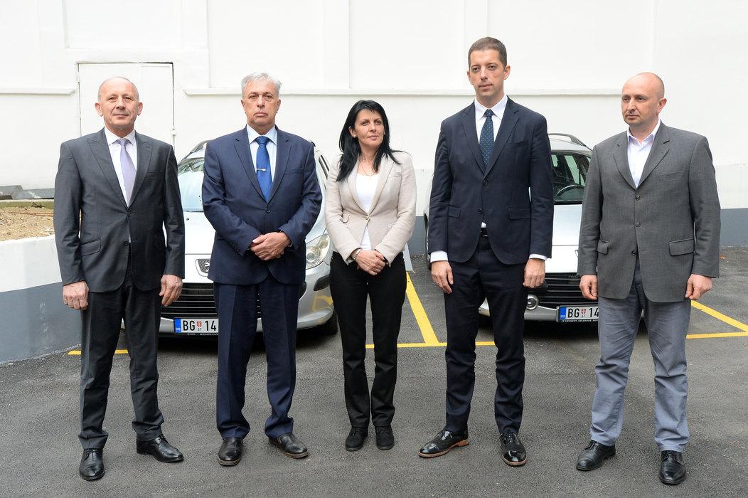SMATSA donirala vozila za Zubin Potok i Pećki okrug