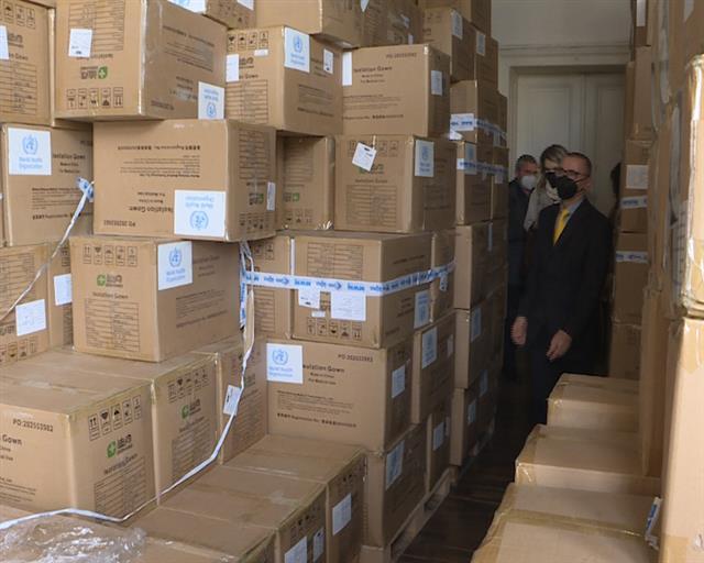 SZO donirala zaštitnu opremu Kliničkom centru Srbije