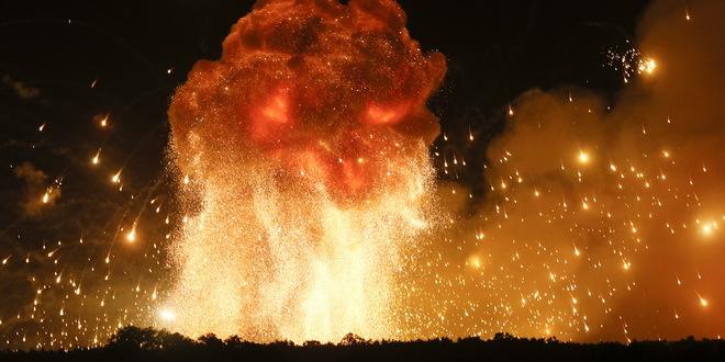 Eksplozija na gradilištu u Rakiti