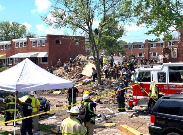 Eksplozija u Baltimoru, jedna osoba poginula, među zatrpanima i deca