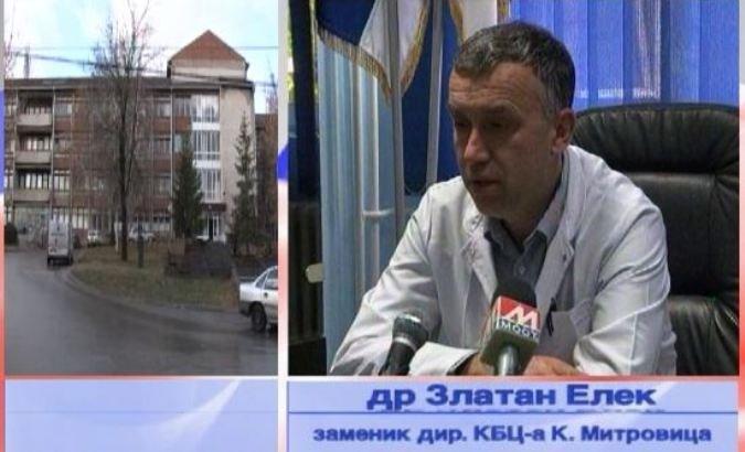 Ranjeni u Zubinom Potoku dovezeni u bolnicu u Kosovskoj Mitrovici