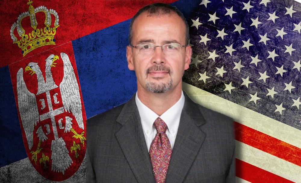 Godfri tražio blagoslov patrijarha za unapređenje odnosa Srbije i SAD