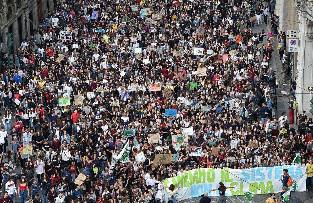 Italija: Milion ljudi na protestima zbog klimatskih promena