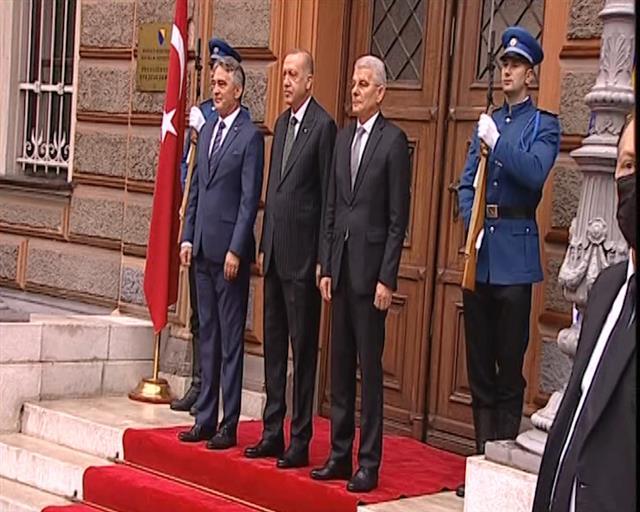 Erdogan razgovarao sa članovima Predsedništva BiH