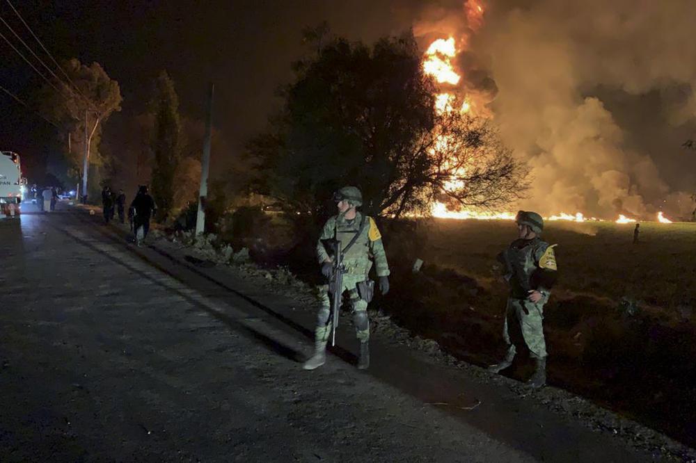 Meksiko: Broj žrtava u eksploziji naftovoda porastao na 73