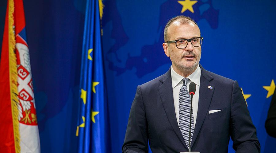 Fabrici pozdravio odluku Vlade Srbije o ambasadoru Crne Gore