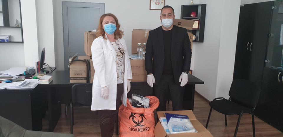 Zubin Potok: Obezbeđena medicinska oprema i dezinfekciona sredstva za Dom zdravlja