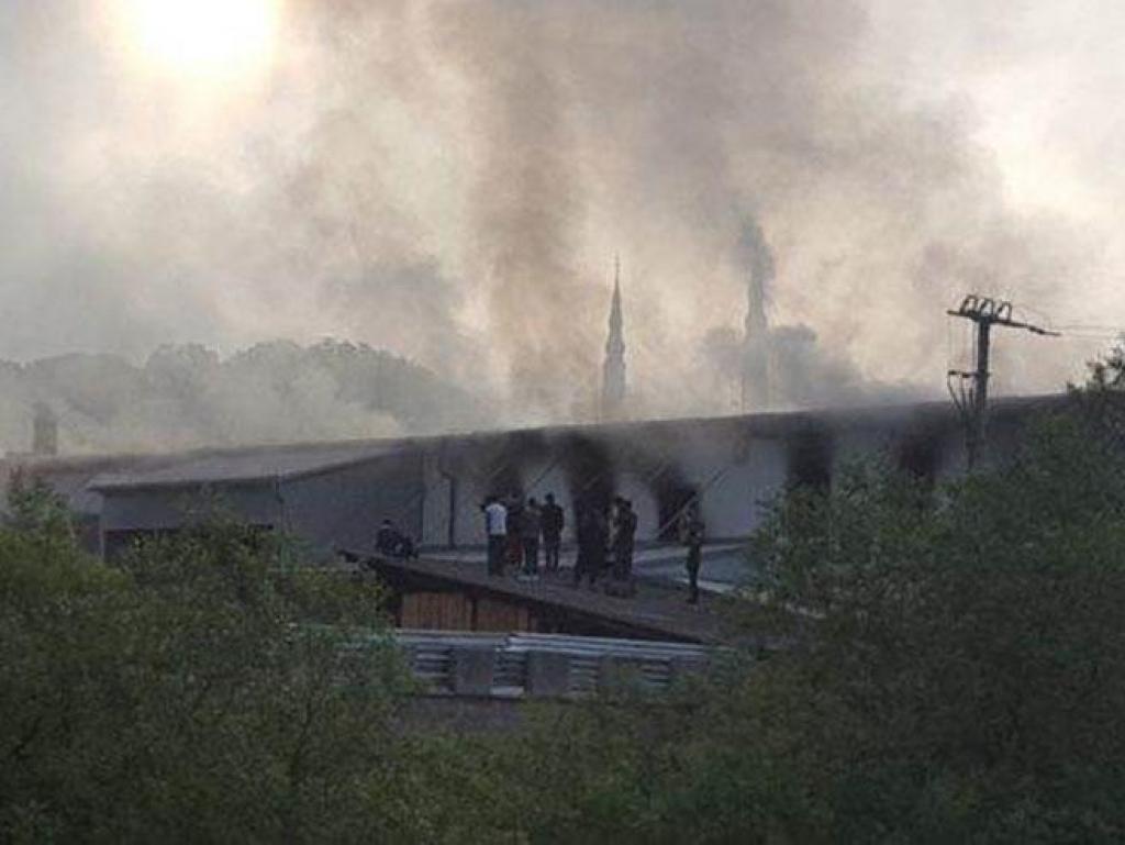 Požar u centru za migrante u BiH, skakali kroz prozor kako bi se spasli