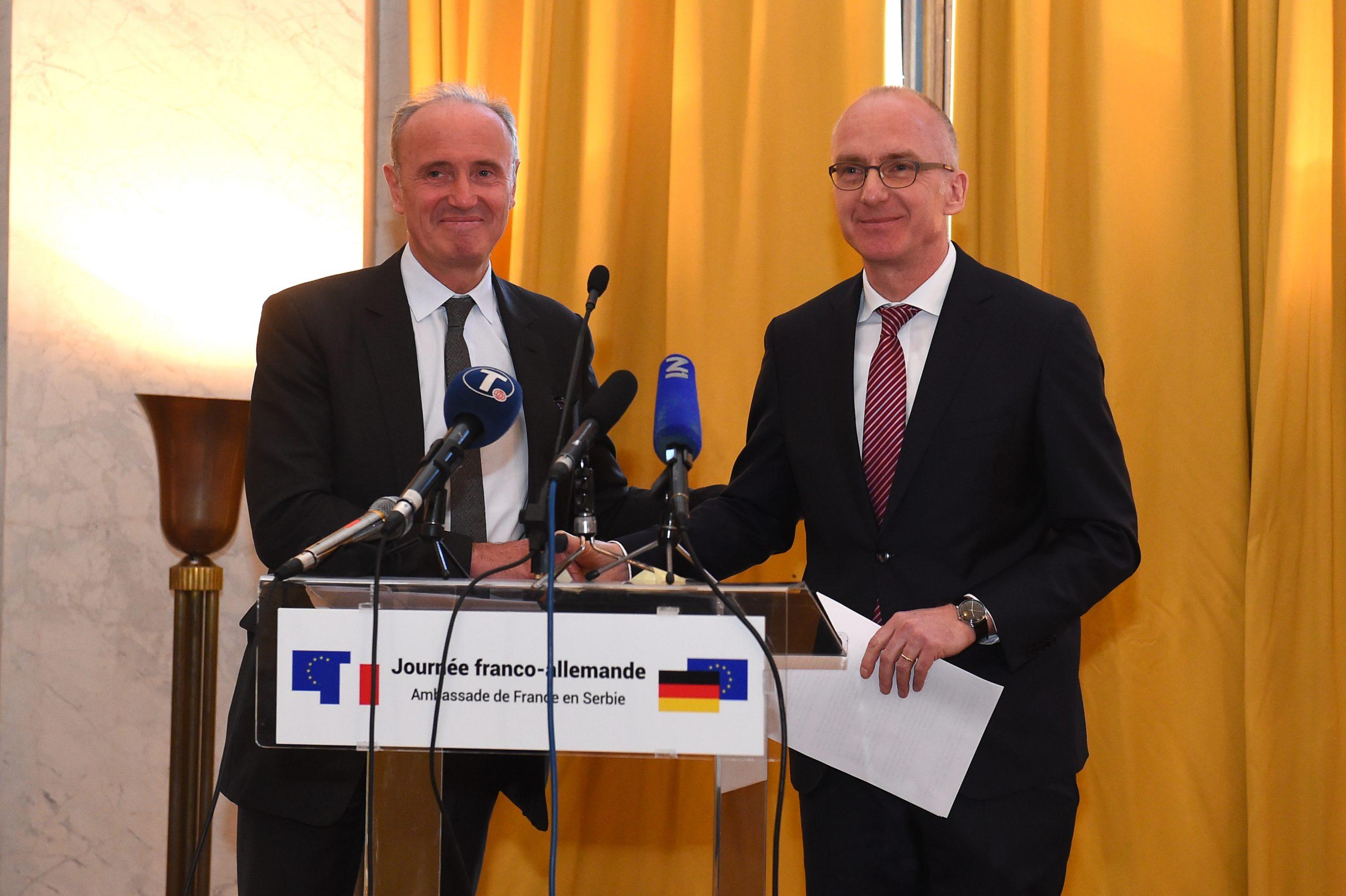 Francusko-nemačka saradnja daje rezultate i u Srbiji
