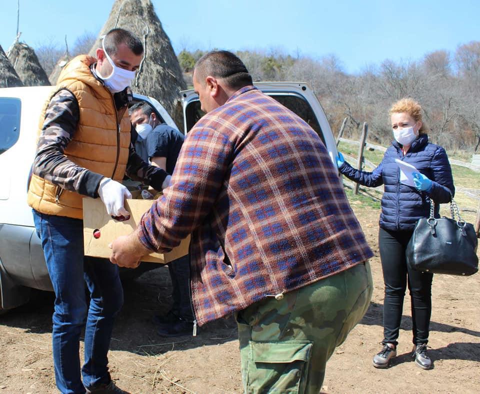 Leposavić: Obezbeđena pomoć za socijalno ugrožene u selu Borčane