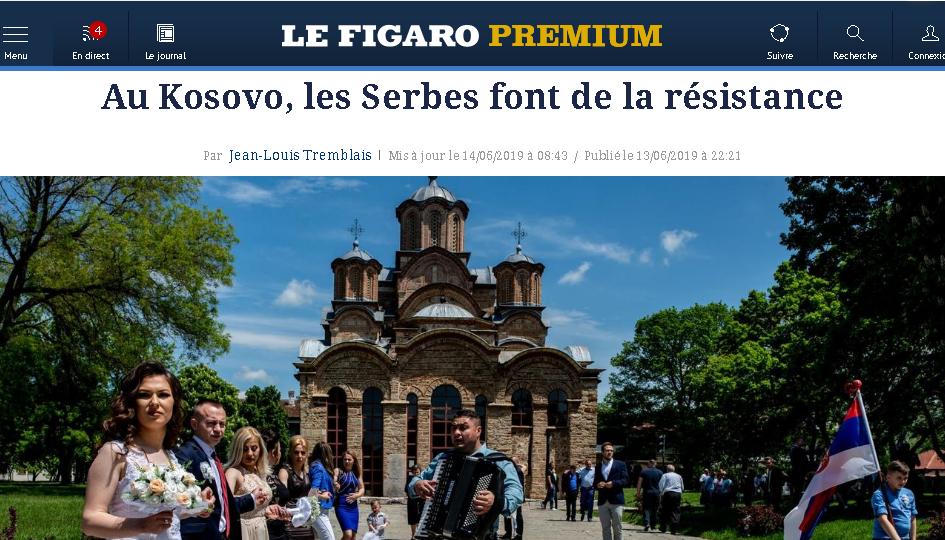 Figaro: Srbi na Kosovu tretirani kao građani drugog reda