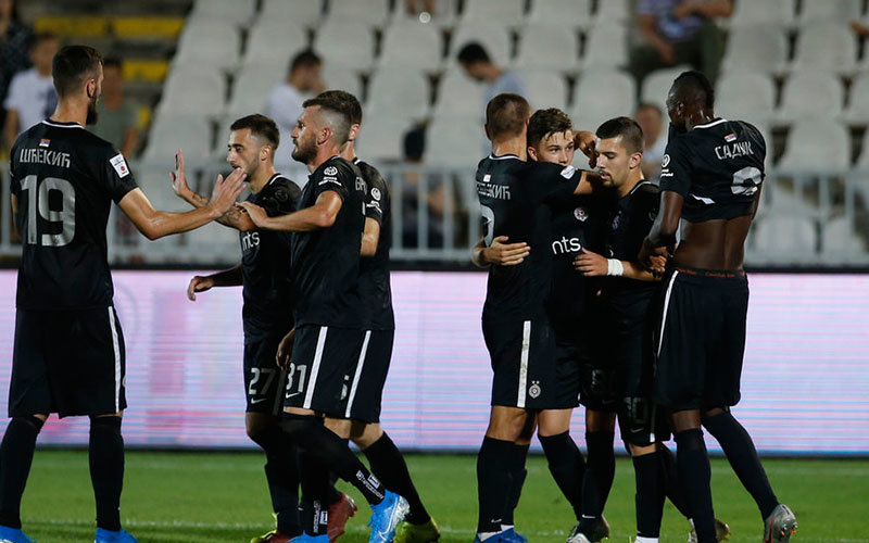 Fudbaleri Partizana protiv Moldea za plasman u LE