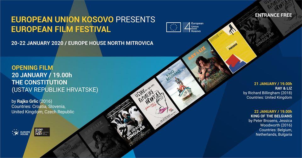 Tri večeri evropskog filma u Kosovskoj Mitrovici