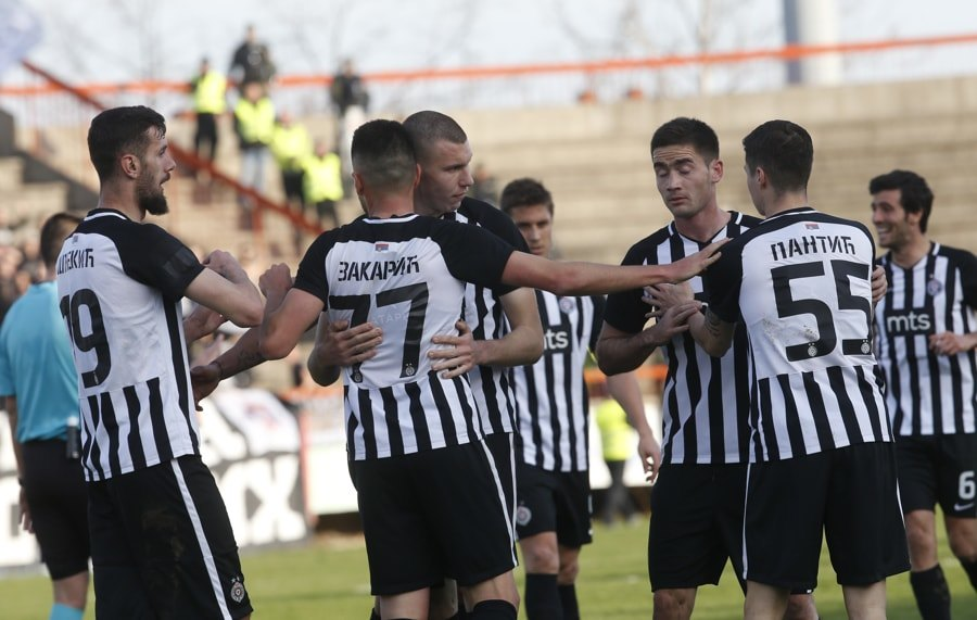 Fudbaleri Partizana pobedili Bordo