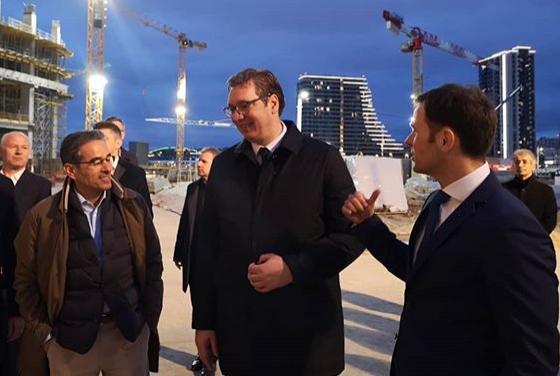 Vučić obišao radnike