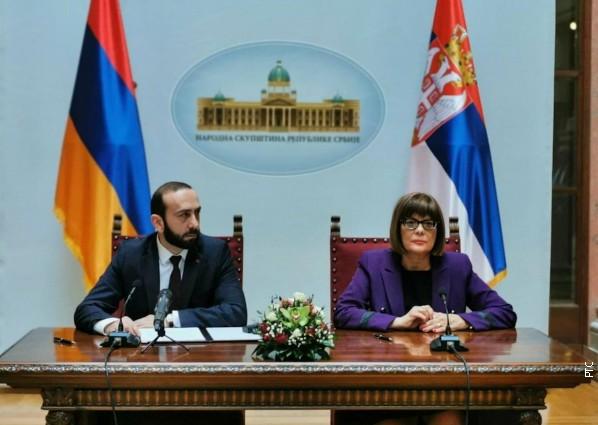 Ukidanje viza sa Jermenijom poboljšaće ekonomsku i privrednu saradnju