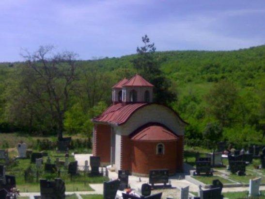 Obijena crkva u Gojbulji
