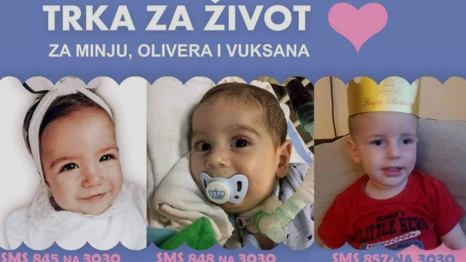 Kosovska Mitrovica: Trka za Vuksana, Minju i Olivera 13. decembra