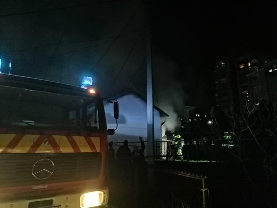 Lokalizovan požar u Severnoj Mitrovici