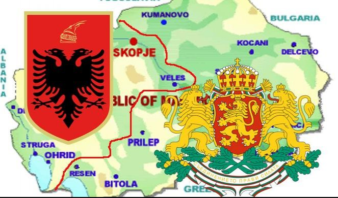 Makedonija između Velike Bugarske i Velike Albanije — SAD i EU ćute na opasne poruke