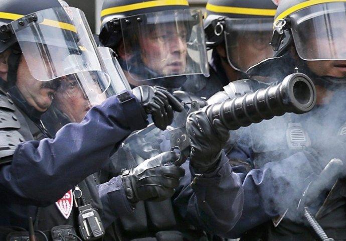 Francuska od jutros na nogama: Policija ispalila suzavac